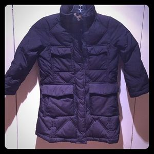 Lands' End Goosedown & Feather Quilted Jacket